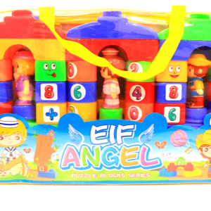 Eif Angel Puzzle Blocks Series 66 pcs Funny Blocks ,Toys For Kids – KidsValley.pk