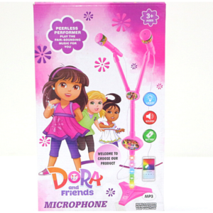 Dora And Friends Microphone, To Sing And Feel Like A Star Toys For Kids – KidsValley.pk