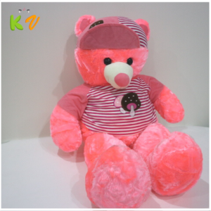 Pink Cream Teddy Bear Soft Stuff Toys For Kids – KidsValley.pk