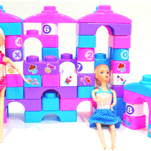 Fantasy Blocks 74 pcs, Let's Make Out Your Own Style Funny Blocks ,Toys For Kids – KidsValley.pk