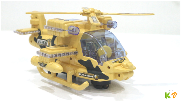 Military Helicopter, Mini Flash Dynamoelectric