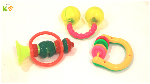 Rattles and Teether Baby Toys