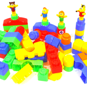 Animal Park Puzzle Toy Building Block Series 63 pics Funny Blocks ,Toys For Kids – KidsValley.pk