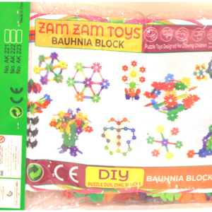 Zamzam Baby Toys, Puzzle Game Bauhnia Blocks ,Toys For Kids – KidsValley.pk