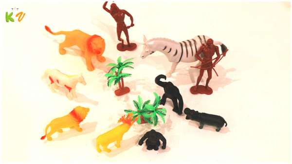 Animal Figures Mini Wild Forest Toys Forest