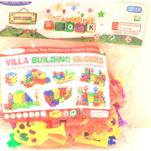 Villa Building Blocks, Learning Blocks ,Toys For Kids – KidsValley.pk