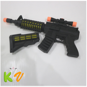 Led Space Sounds Light Up Gun Toys For Kids – KidsValley.pk