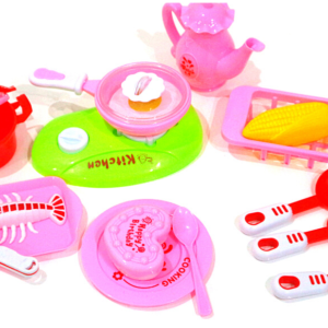 Cake Kit Cooking Kitchen Set, Happy And little Chef Toys For Kids – KidsValley.pk
