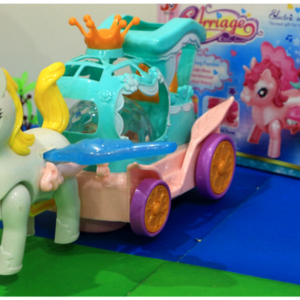 Pony Stars Carriage, Flash Music Star Carriage Nice And Fun Toys For Kids – KidsValley.pk