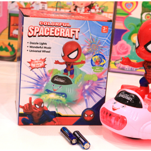 Colorful Spacecraft Super Hero Toys For Kids – KidsValley.pk