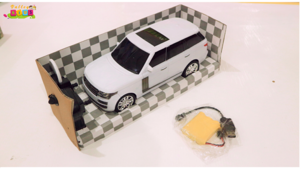 1:10 Scale R/C Rechargeable Car Toyota Land Cruiser