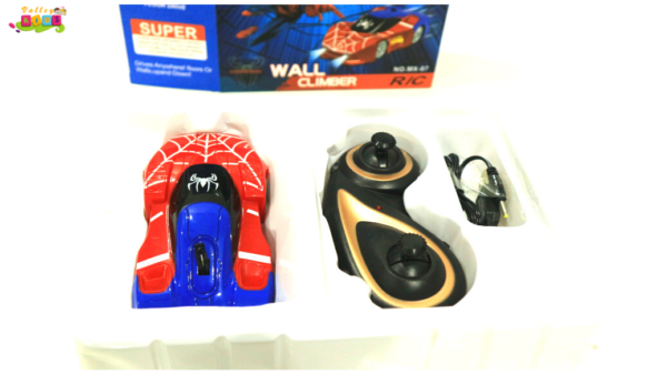 Ultimate Spider-Man Wall Climber RC Car