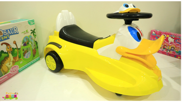 Duck Push Car For Babies With Lights and Music