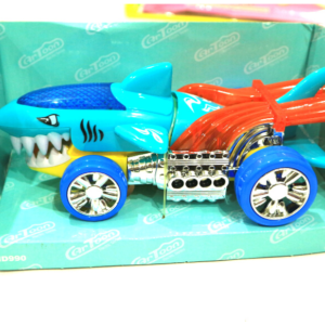 Shark Raid, Cartoon Electric Series, RC Car With Light And Music, Toys For Kids – KidsValley.pk