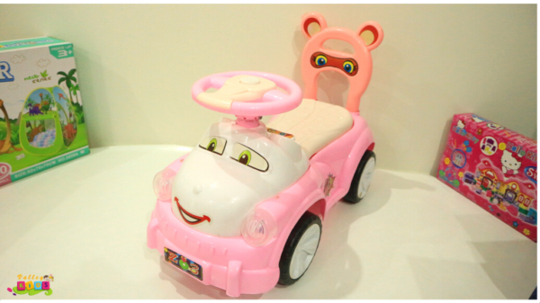 Baby Push Tolo Car Light Music