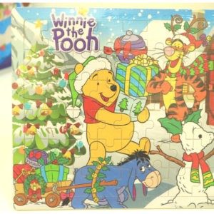 Wooden Winne The Pooh Puzzle Toys Kids Baby Wood Puzzles Learning Educational Toys for Children Size 11.8×8.8 Inches, Toys For Kids – KidsValley.pk