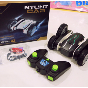Remote Control Stuntss Car 2.4Ghz Dual Side 360° Rotate Flips , Toys For Kids – KidsValley.pk