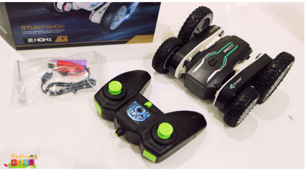 Remote Control Stuntss Car 2.4Ghz Dual Side 360° Rotate Flips