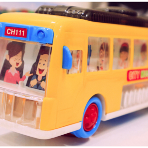 3D Light Music City Bus,Toys For Kids – KidsValley.pk