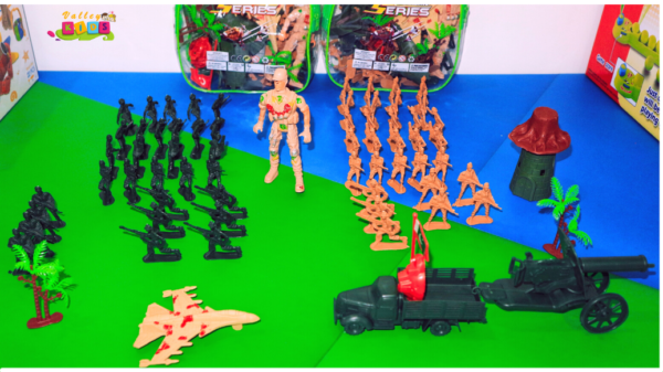 Special Force Battlefield Army Military Play Set Toys for Kids