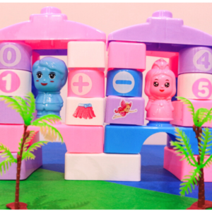 Fantasy Blocks 40pcs, Let's Make Out Your Own Style Funny Blocks ,Toys For Kids – KidsValley.pk
