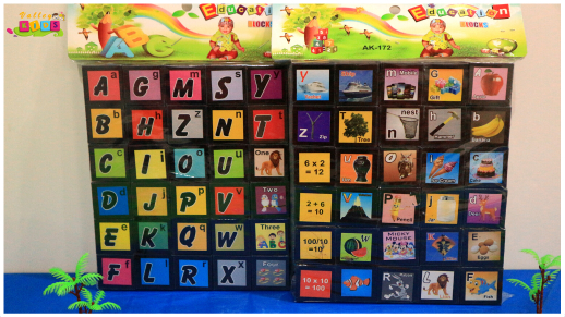 Abc Puzzle Blocks For Kids