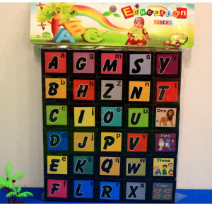 EDUCATIONAL ABC BIG SIZE BUILDING BLOCKS SET FOR KIDS – ENGLISH ALPHAPETS BLOCKS – Multicolor Toys For Kids – KidsValley.pk