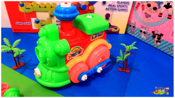 Multicolor Musical Train Engine with flashing Lights