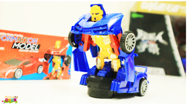 Robot To Car Converting Transformer Toys For Kids