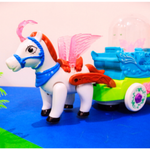 Bubble Stars Carriage, Flash Music Star Carriage Nice And Fun Toys For Kids – KidsValley.pk