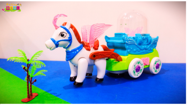 Bubble Carriage Toy For Kids