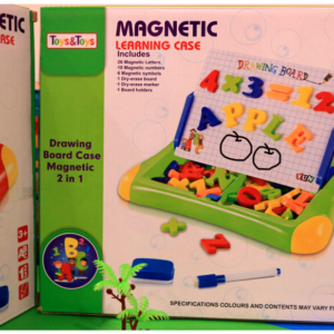 Magnetic Learning Case Toy For Kids , Toy For Kids – KidsValley.pk
