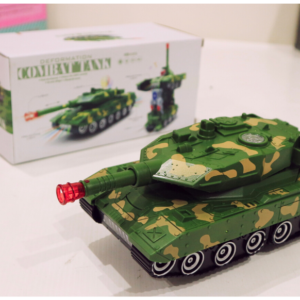 Deformation Combat Tank, Lighting Music, Toys For Kids – KidsValley.pk