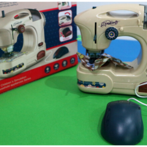 Mini Appliance Sewing/Stitching Machine Set for Kids – Battery Operated. Toys For Kids – KidsValley.pk