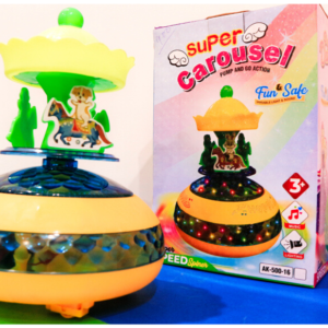 Super Carousel Pump And Go Action Rotating Electric Toys For Kids – KidsValley.pk