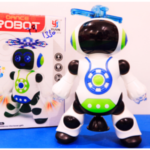 Smart Mini Robot Fun Robot Dancing Robot Toy Led Light Music Hyun Dance Robot Toys For Kids – KidsValley.pk