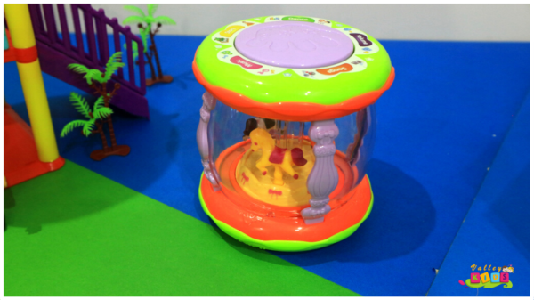 Electronic Touch Drum Set With Music And Lights Toy