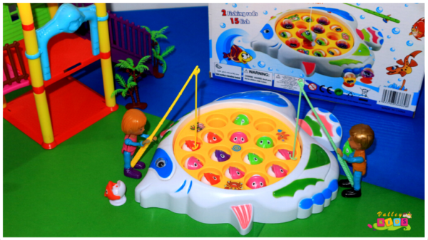 Fishing Games, 2Fishing Rods 15Fish Toy For Kids