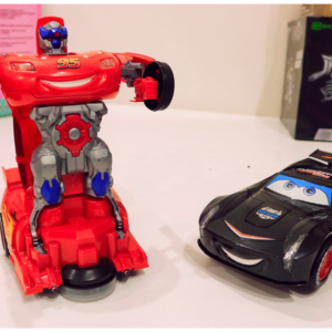 Robot To Car Converting Transformer Toys For Kids, Toys For Kids – KidsValley.pk
