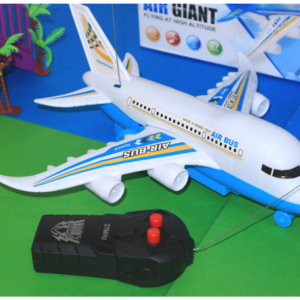 Remote Aeroplane Electric Toy Lights Sounds Kids