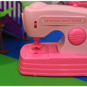 Mini Sewing Machine Toy for Kids Battery Operated, Toys For Kids – KidsValley.pk