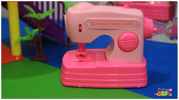 Mini Sewing Machine Toy for Kids Battery Operated