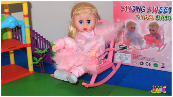 Swing Angle Doll Battery Operated doll