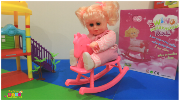 Swing Baby Horse Doll for Kids