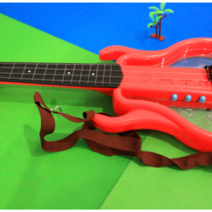 Rock Star String Guitar For Kids - Red